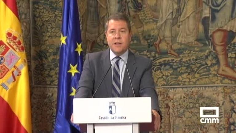 Page anuncia un Consejo de Gobierno Extraordinario el jueves para eliminar restricciones covid