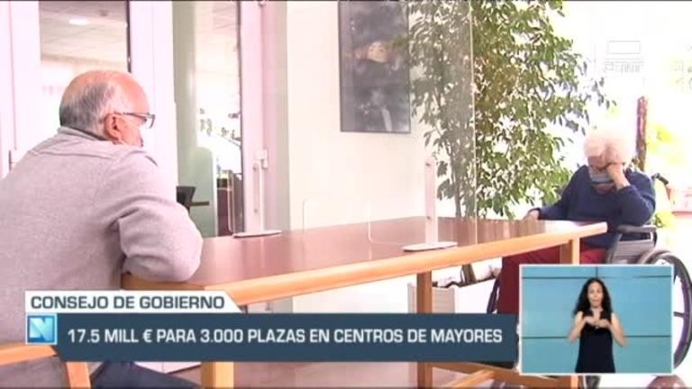17 millones y medio de euros para a preservar 3.000 plazas en centros para mayores.