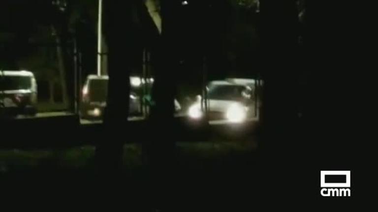 Detenido en Guadalajara por atacar con un hacha a varios vehículos policiales