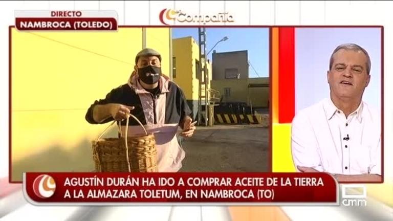 Agustín Durán se ha ido a comprar aceite a la Almazara Toletum