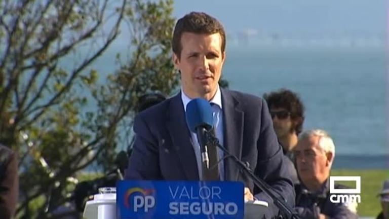 PP: Casado habla de pensiones en Santander; Catalá, del ATC en Cuenca y Núñez arropa a candidatos en Ciudad Real