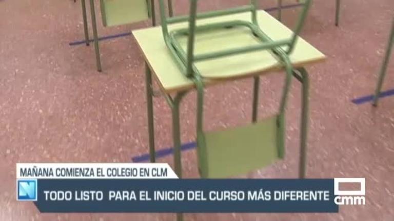 Horas para la vuelta al cole: 408.689 alumnos y 32.633 profesores, y otras noticias de Castilla-La Mancha