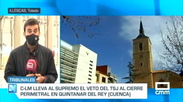 Castilla-La Mancha anuncia que recurrirá al Supremo el cierre perimetral de Quintanar del Rey (Cuenca)