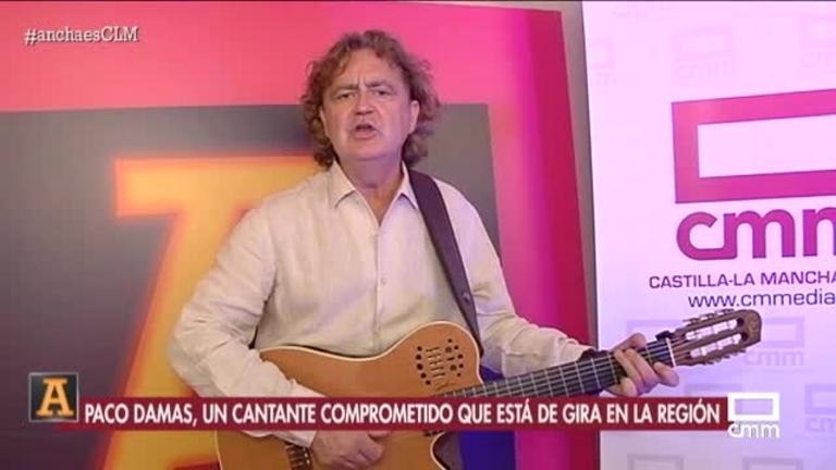 Paco Damas canta contra la violencia