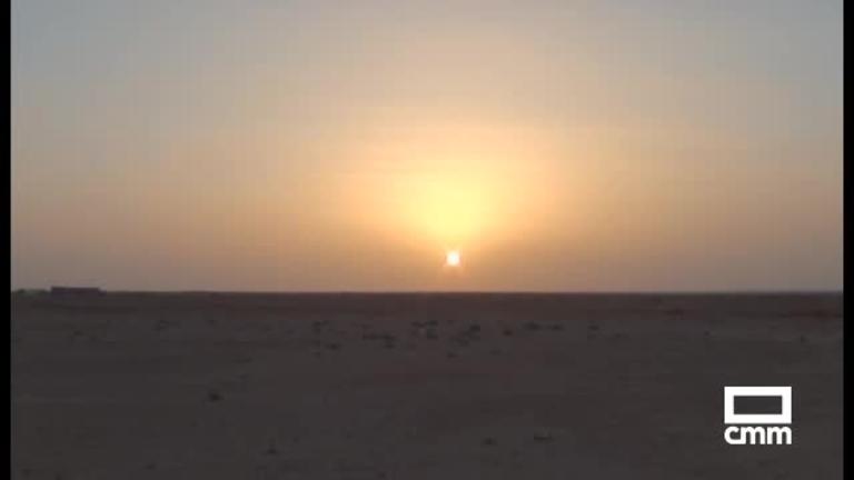 Sáhara, lápices en la arena