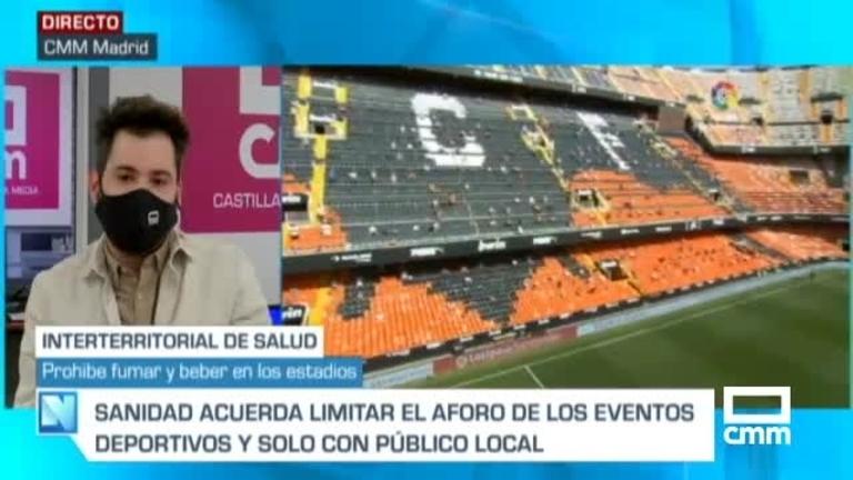 La Liga de fútbol empezará con un 40% de aforo y la de baloncesto con un 30%, decide la Interterritorial de Salud