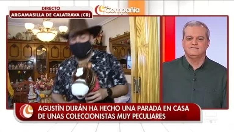 Agustín Durán se va al oeste a coleccionar dedales