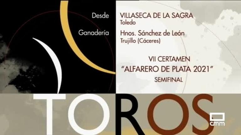 Novillada desde Villaseca de la Sagra. Semifinal certamen Alfarero de Plata