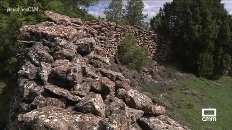 Estos muros se han construido solo con piedra