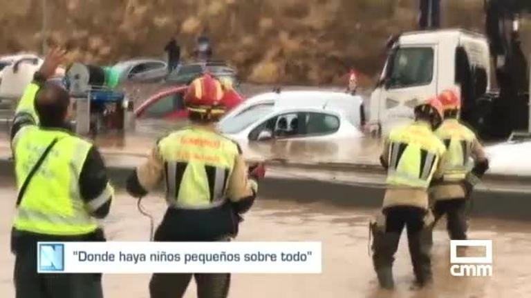Tormentas: riadas en Guadamur, varios pueblos y en la capital, Toledo