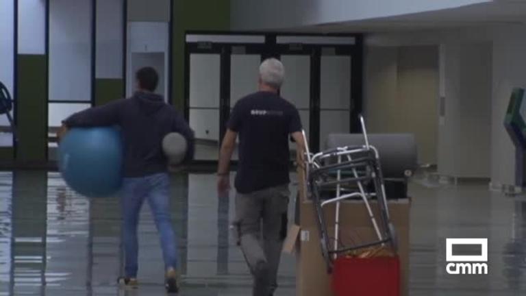 Llega al Hospital Universitario de Toledo material de rehabilitación: el primer servicio en funcionar