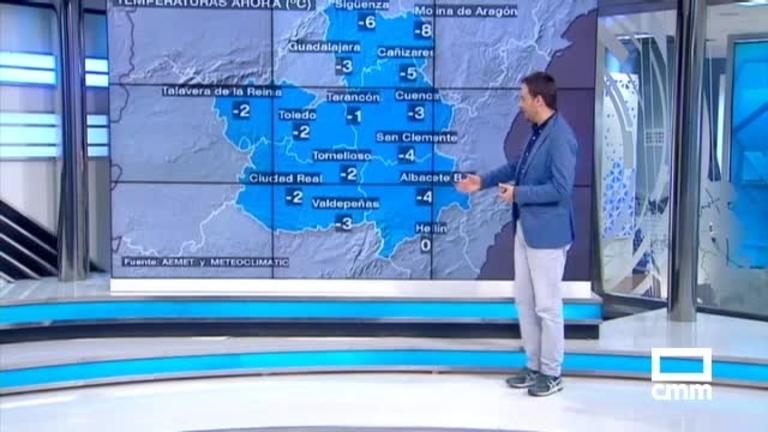 Previsión de nieve esta madrugada en CLM: avisos amarillos en Cuenca, Albacete y Guadalajara