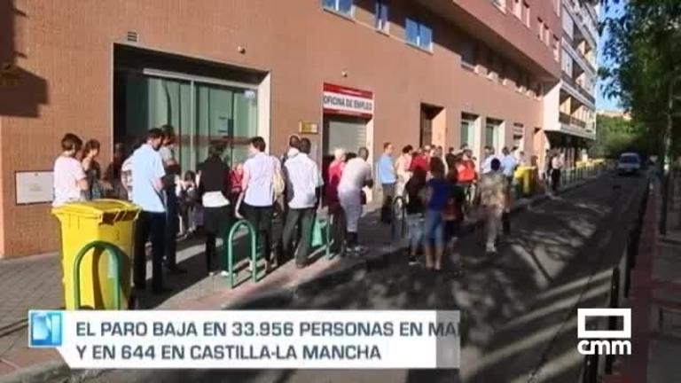 El paro baja en 644 personas en marzo en Castilla-La Mancha