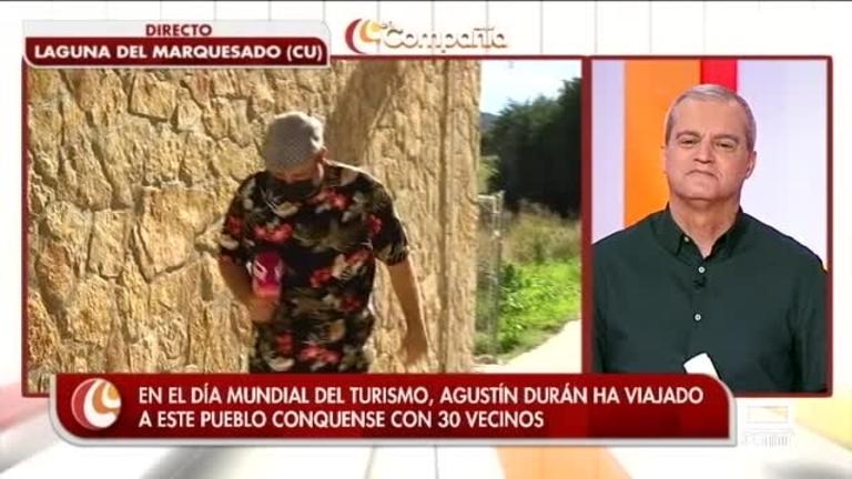 Agustín visita Laguna del Marquesado en el Día Mundial del Turismo