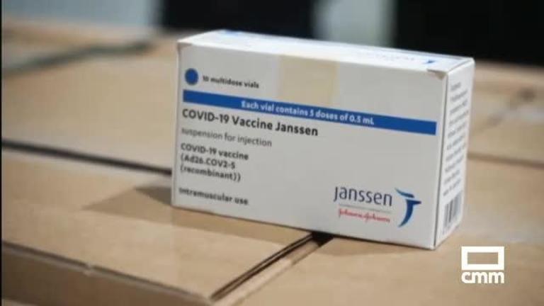 Castilla-La Mancha recepciona 6300 dosis de vacunas de Janssen