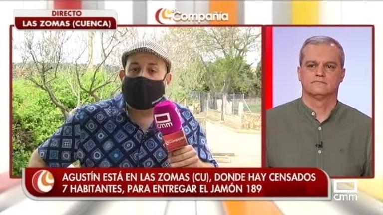 Agustín Durán entrega el jamón