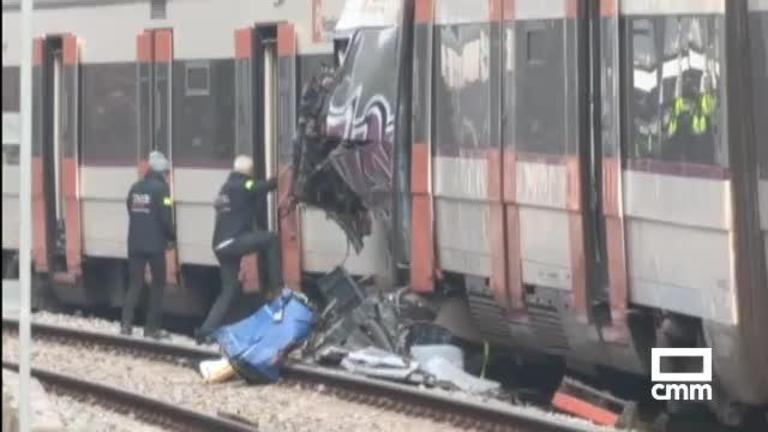 Al menos un muerto y 95 heridos en un accidente ferroviario en Manresa, Barcelona