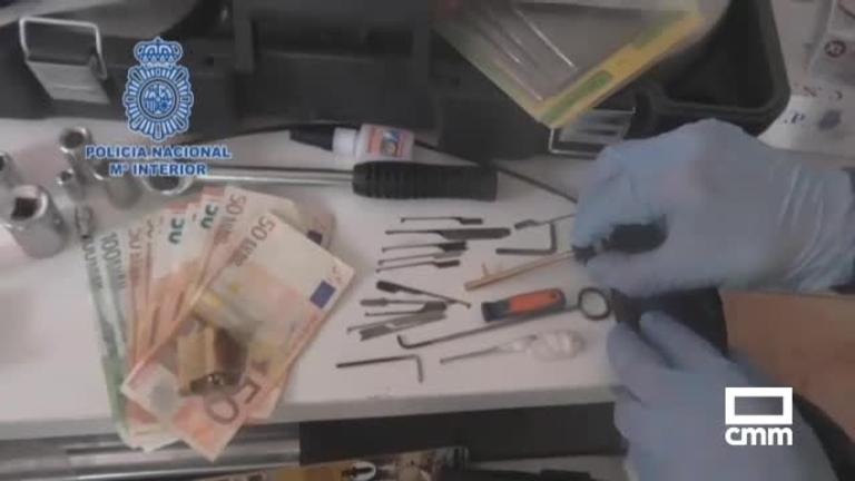 Seis detenidos por robos con fuerza en pisos de Almansa (Albacete) y ciudades del levante español
