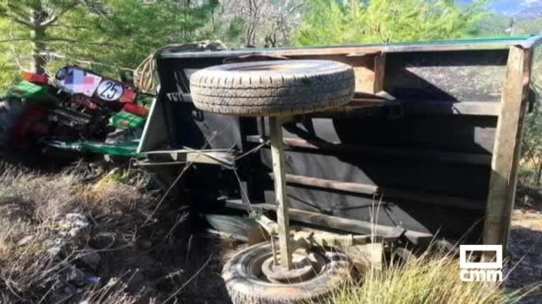 Muere el exalcalde de La Graya tras volcar su tractor en Yeste (Albacete)