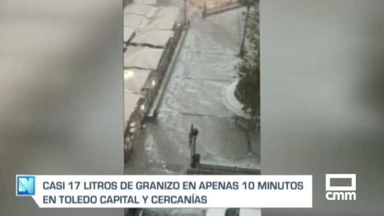Tras el granizo, las provincias de Toledo y Ciudad Real mantienen avisos amarillos por tormentas este jueves