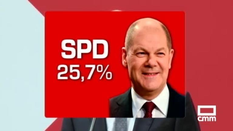 Elecciones en Alemania: El SPD de Solchz gana las elecciones por un estrecho margen