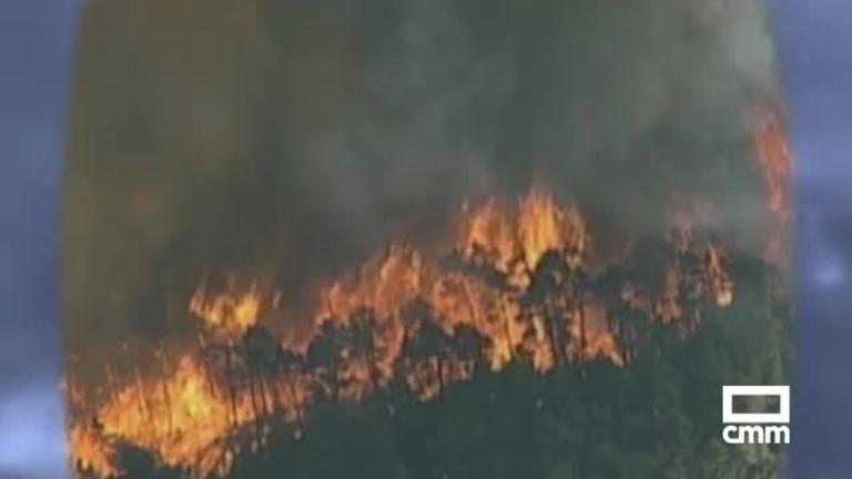 Incendio Riba de Saelices