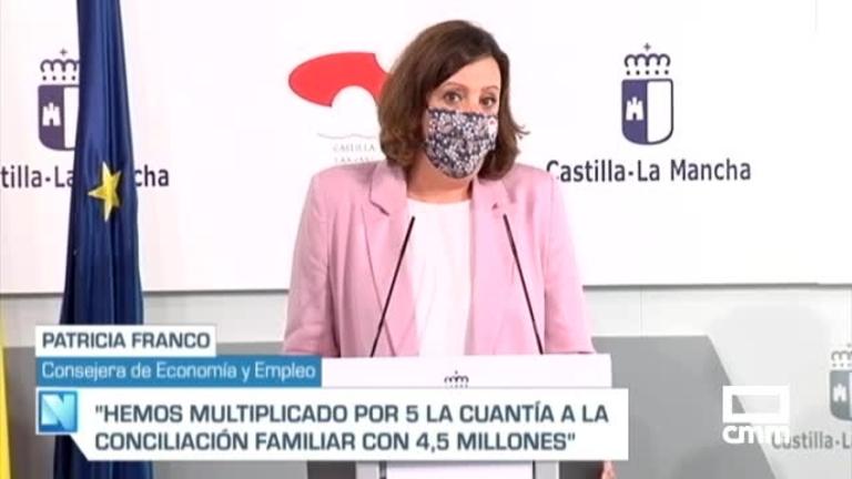 Castilla-La Mancha aprueba 4,5 millones de euros en ayudas a la conciliación familiar y laboral