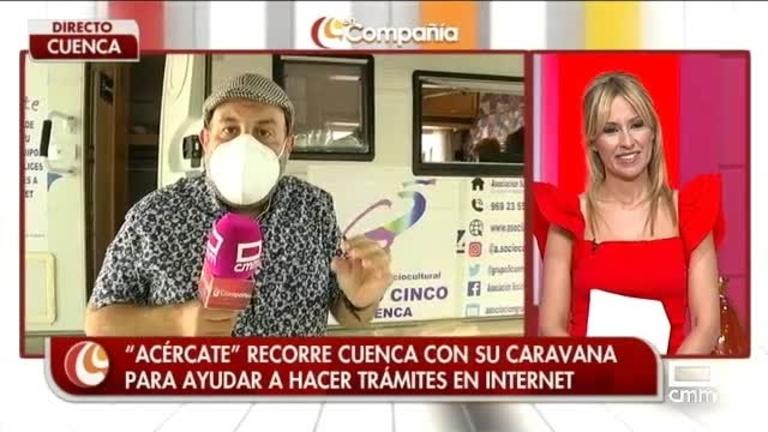 Caravana digital en Cuenca