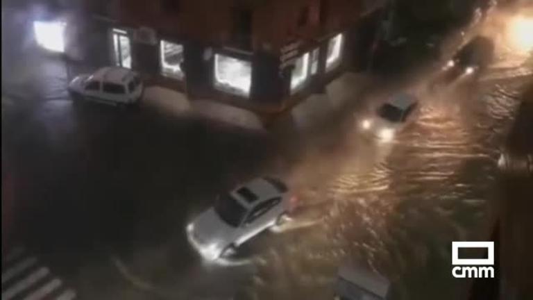 Vídeo: Fuertes inundaciones en Alicante