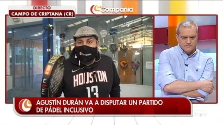Agustín Durán: padel inclusivo con ASMICRIP