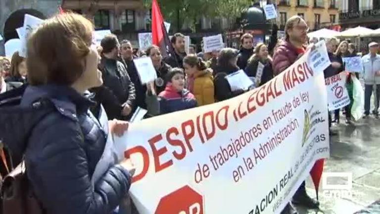 Empleados interinos y temporales piden en Toledo convertir en fijo al personal público en fraude de ley