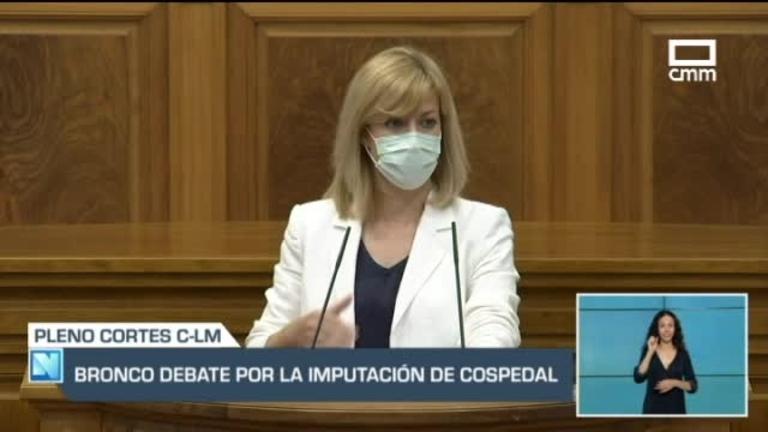 Bronco debate en Las Cortes de Castilla-La Mancha