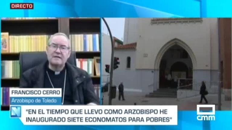 El arzobispo de Toledo, en CMM: