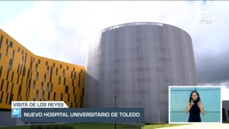 El nuevo hospital universitario de Toledo recibe mañana la visita de los Reyes