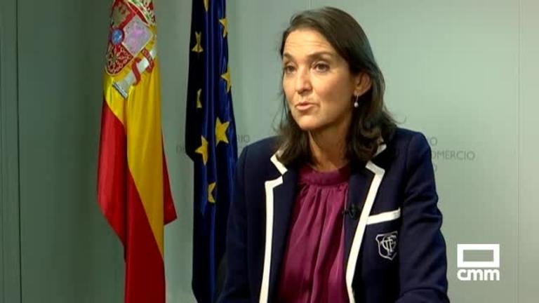 Reyes Maroto afirma en \'A pie de campo\' que la Comisión Europea podría imponer aranceles a productos de EE.UU a partir del lunes