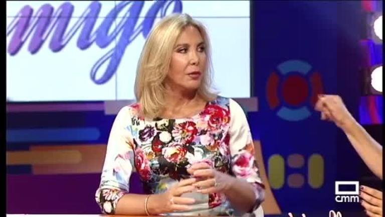 Norma Duval se despidió de los escenarios en Castilla-La Mancha Media