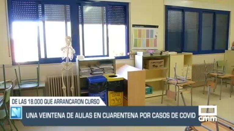 Una comunión deja cinco familias aisladas en Cervera de los Montes (Toledo), y otras noticias del día en Castilla-La Mancha