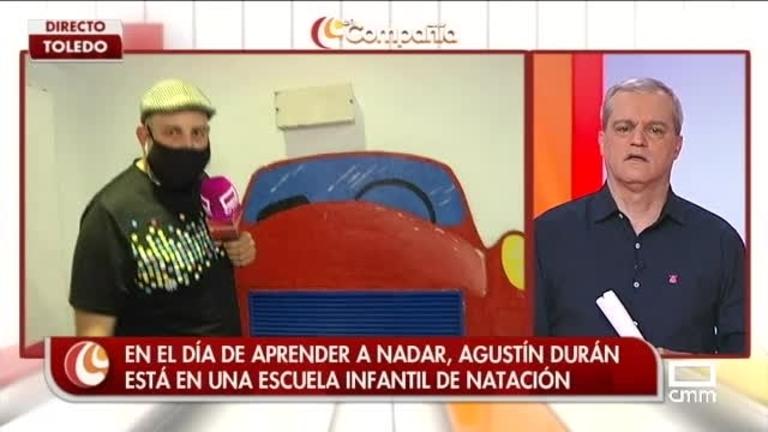 Agustín Durán nos enseña a nadar