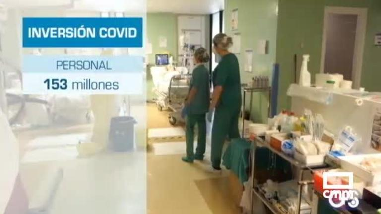 Sanidad ha destinado 400 millones contra la Covid; el Sescam se lleva un 30% del presupuesto