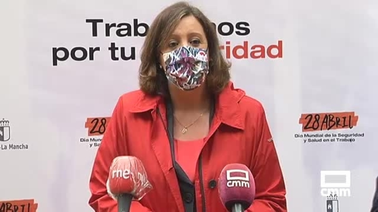 Homenajes a los fallecidos, manifestaciones y otros actos en Castilla-La Mancha por el Día Mundial de la Seguridad Laboral