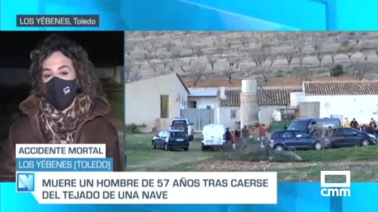 Muere un hombre en Los Yébenes (Toledo) tras caer desde el tejado de una caseta