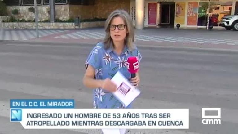 Atropellado un trabajador de 53 años mientras descargaba un camión en Cuenca