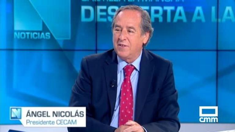 Entrevista a Ángel Nicolás
