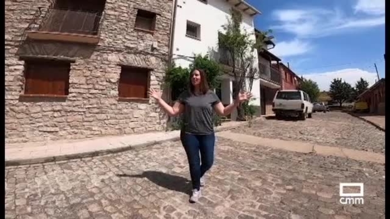 Ana Sánchez, ganadera en Orea