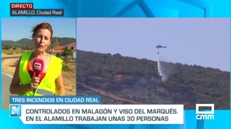 Cuatro incendios en Ciudad Real en las últimas horas, dos de ellos ya extinguidos